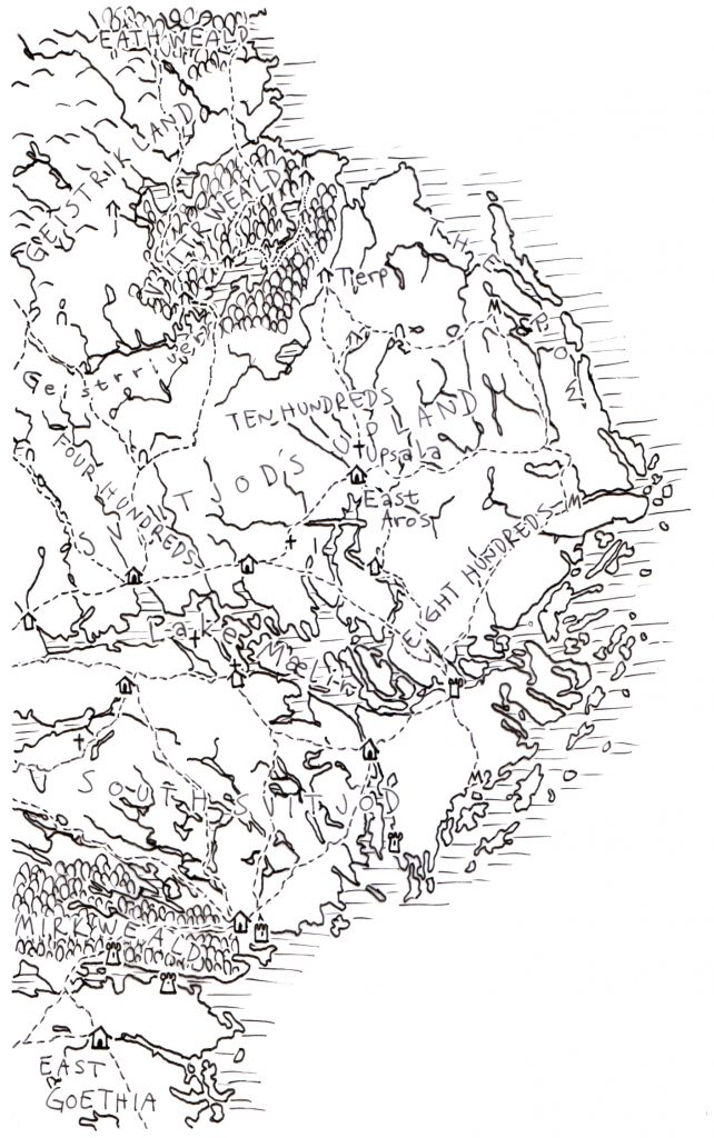Map of Svitjod
